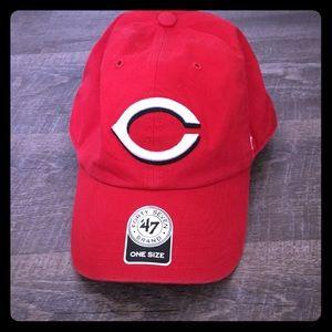 Reds baseball cap